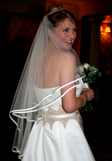 Bridal arrival at Judges Hotel Yarm on  Tees with North  East Photographer Jan Secker Photographic Middlesbrough